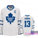 Wholesale - Hockey jerseys Toronto Maple Leafs white sundin #13 training clothes