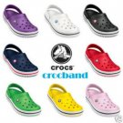 genuine brand new Crocs CROCBAND shoes sz:M4/W6-M9/W11