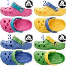 4 colors CROCS� DISNEY Mickey Girls' shoes sz:6C7-12C13