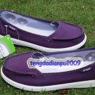 New Crocs™ Santa Cruz purple Women' shoes SZ:W5-W9=EUR35-39