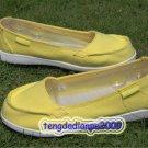 New Crocs™ Santa Cruz yellow Women' shoes SZ:W5-W9=EUR35-39