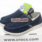New CROCS™ santa cruz dark blue men's shoes sz:M7-M11