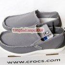 New CROCS™ santa cruz gray men's shoes sz:M7-M11
