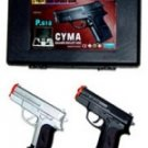 2 Pack P618 Airsoft w/ Case