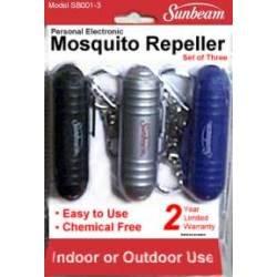 Sunbeam Mosquito Repeller 3 pack