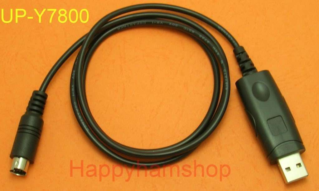 USB data cable for Yaesu radio FT8800E FT8800R 073