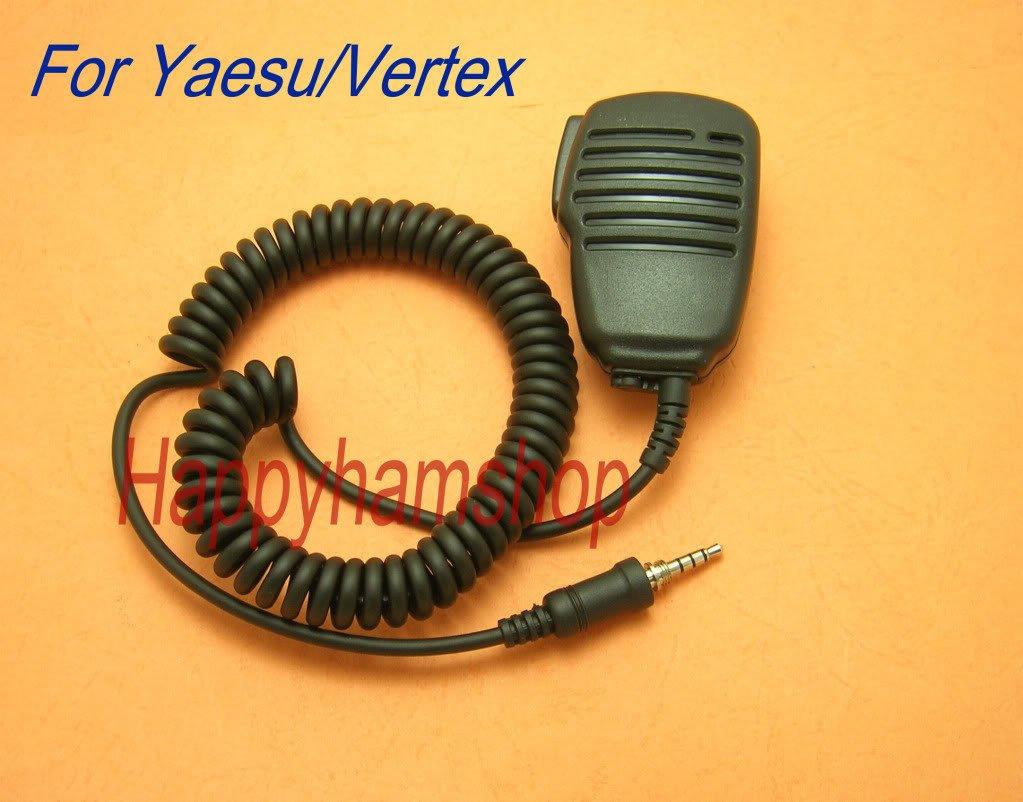 Compact Speaker Mic for Yaesu Handheld radio VX6R VX7R VX120 VX127 VX177 VX170