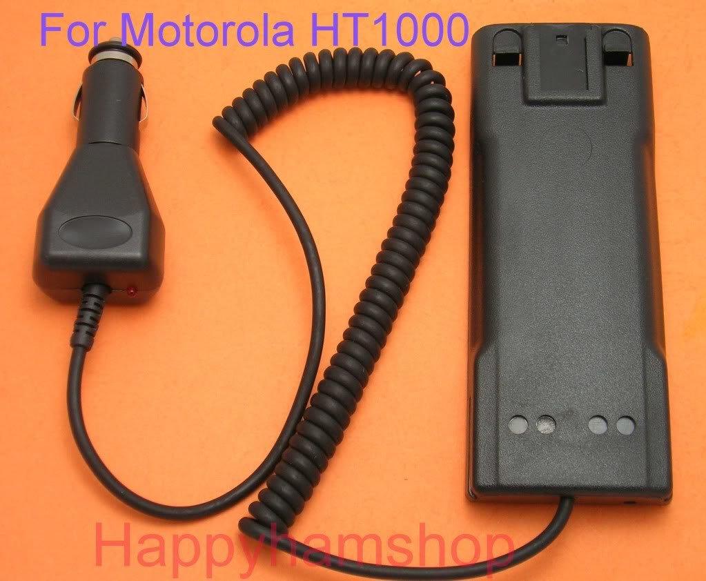 Battery Eliminator for Motorola HT-1000 MT-2000     060