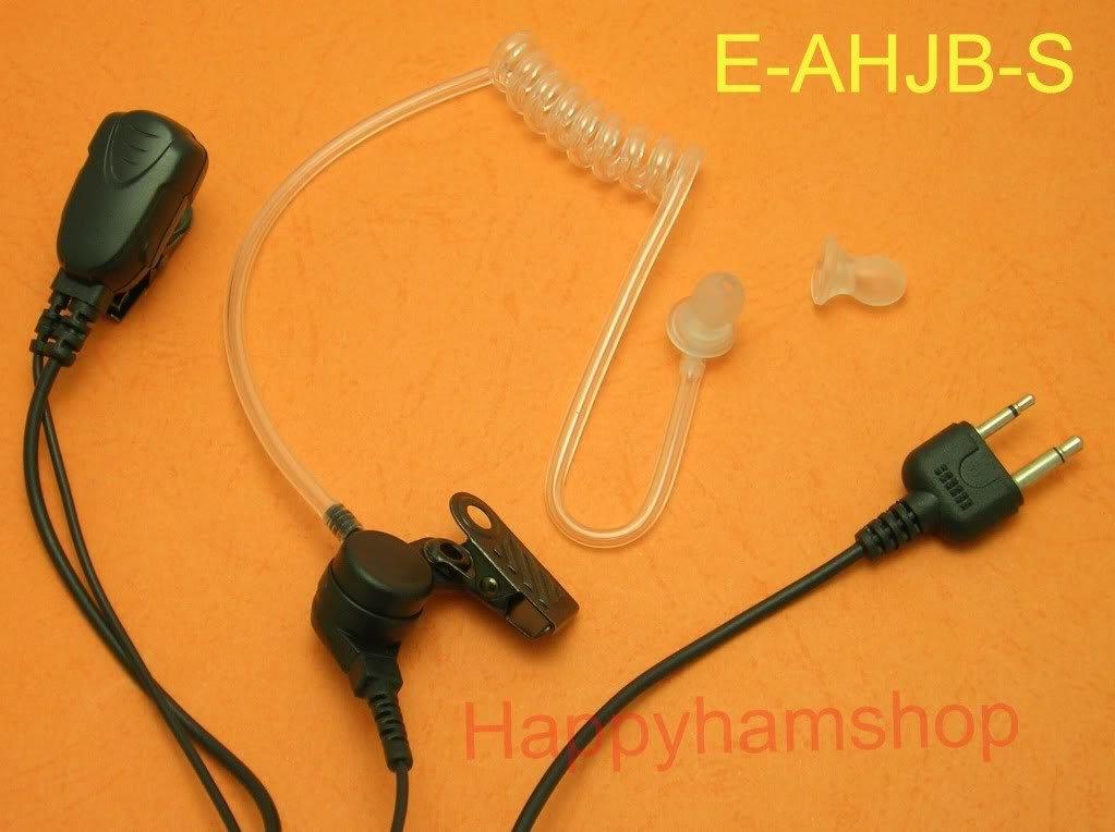 Hands free Mic Headset for Yaesu two way radio IC-V82 IC-V85 IC-F10 IC-M5 IC-F3S