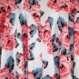 INC International Concepts Size 10 Floral Print Scuba A-Line Skirt