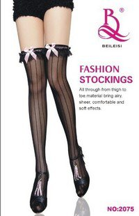 Free shipping sexy long stocking lace stocking 2075