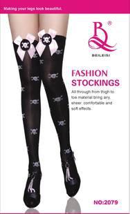 Free shipping sexy long stocking lace stocking 2079