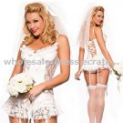 Free shipping sexy  bridal costume