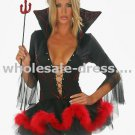 Free shipping sexy costume black