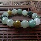 Jadeite jade bracelet colorful bracelet