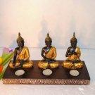 European three statues Candlestick