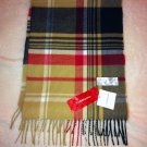 NWT Croft & Barrow Plaid Scarf 64 x 12""