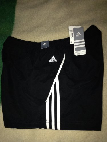 Women's Adidas Shorts NWT  black / white
