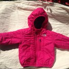 GUC Infant Girls 6-12 month Reversible The North Face Jacket