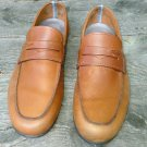 Men's used Salvatore Ferragamo Loafers Driving Shoe Italy 8.5