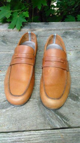 Men's used Salvatore Ferragamo Loafers Driving Shoe Italy 8.5