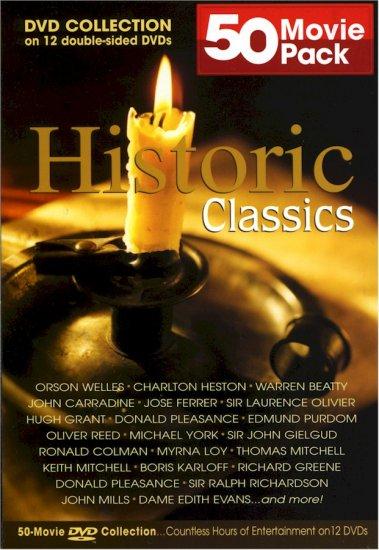50 Movie Pack Historical Classics