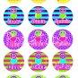 Cheer Dance Gymnastics Digital Bottlecap Images 1 Inch Circle