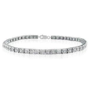 1cttw diamond bracelet