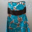 Blue/brown dress