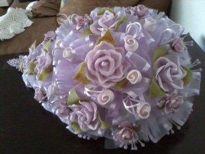 Bridal/quince bouquet