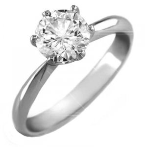1cttw 14k white gold diamond solitaire highest quality colorless