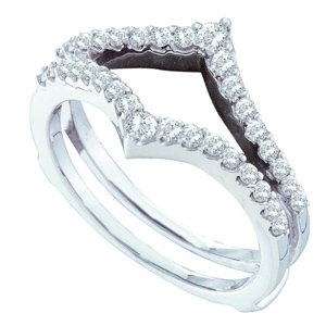1/2cttw diamond ring guard/wrap
