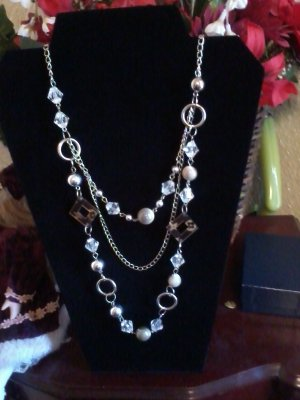 Multiple strand necklace