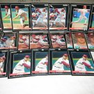 1992 PINNACLE BASEBALL CARDS PHILADELPHIA PHILLIES TEAM LOT  FREE SHIPPING!!!