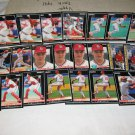 1992 PINNACLE BASEBALL CARDS ST. LOUIS CARDNIALS TEAM LOT  FREE SHIPPING !!!