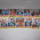 ST. LOUIS CARDINALS 1985 TOPPS BASEBALL CARDS TEAM LOT FREE SHIPPING!!