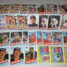 CHICAGO WHITE SOX 1985 TOPPS BASEBALL CARDS TEAM LOT FREE SHIPPING !!!
