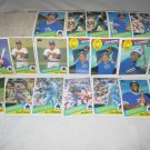 SEATTLE MARINERS 1985 TOPPS BASEBALL CARDS TEAM LOT FREE SHIPPING!!!