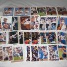 ATLANTA BRAVES 1992 UPPER DECK BASEBALL CARDS TEAM LOT FREE SHIPPING !!!