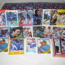 HUGE TORONTO BLUE JAYS BASEBALL CARD LOT FREE SHIPPING !!!