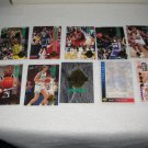 MIXED BASKETBALL CARD CHECKLISTS PLUS CLASSIC FOR SPORT COLLECTION