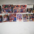 CLEVELAND CAVALIERS BASKETBALL CARDS TEAM LOT