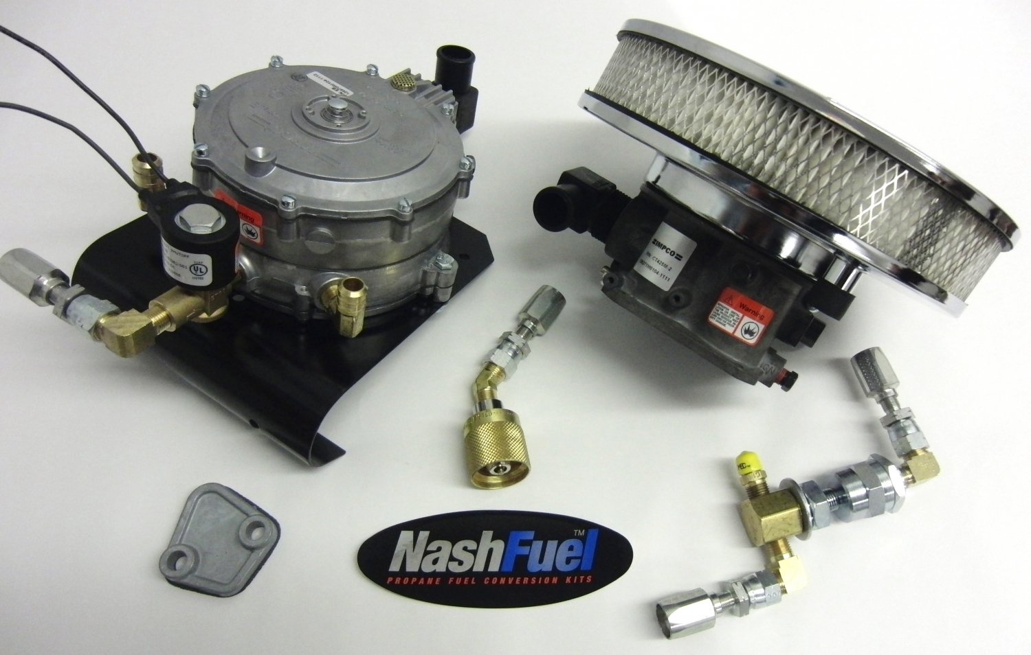 CHEVY SMALL BLOCK 350 PROPANE CONVERSION KIT