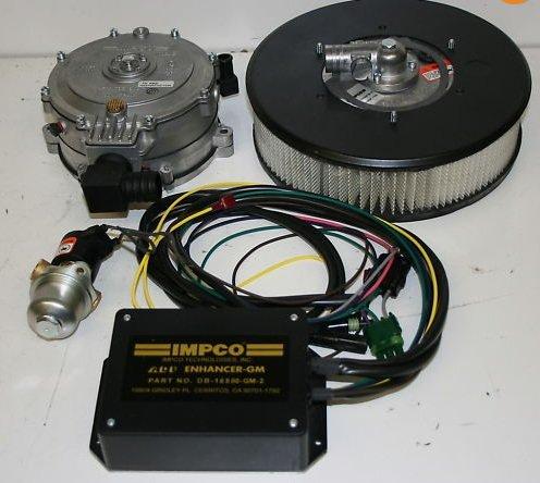 DUAL FUEL PROPANE & GAS KIT V8 ENGINES CHEVY 1987-1995