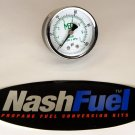 MARSHALL EXCELSIOR HIGH PRESSURE GAUGE DIAL 0-100 PSI PROPANE AIR NPT COMPRESSOR