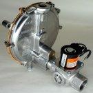 IMPCO STYLE KN LOW PRESSURE REGULATOR 039-122 12V VOLT LOCK OFF NATURAL GAS DC