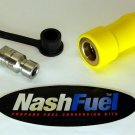 3600 PSI CNG QUICK CONNECT FUEL TYPE 2 CLASS A FAST FILL NOZZLE LB36 CC600P36S