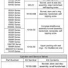 REGO 19104-50 MULTIBONNET ASSEMBLY MULTIVALVE SERVICE VALVE REPAIR REBUILD KIT