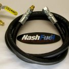 """3/4"""" NGT MALE TO 1-5/16"""" ACME LIQUID PROPANE TRANSFER KIT TANK GRILL FILLER FILL"""