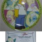 Simpsons Plates - Bart Homer Maggie Marge Lisa Simpson